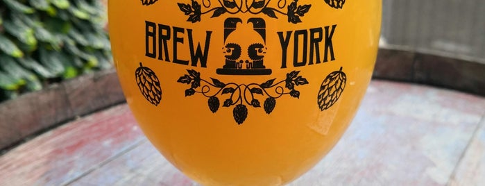 Brew York Craft Brewery & Tap Room is one of York.