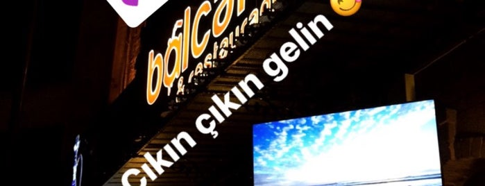Bal Cafe&Restaurant is one of haliç.