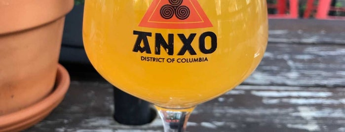 ANXO Cidery & Pintxos Bar is one of Food/Drink Favorites: DC & Northern Virginia.