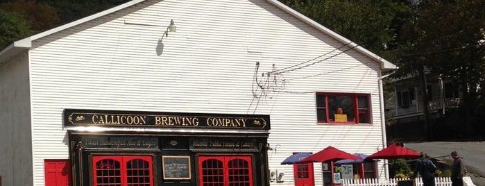 Callicoon Brewery is one of Lugares guardados de Rachel.