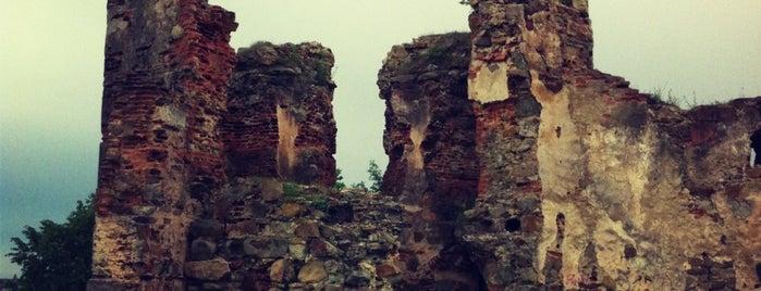 Пнівський замок / Pniv Castle is one of Locais curtidos por Mikhail.