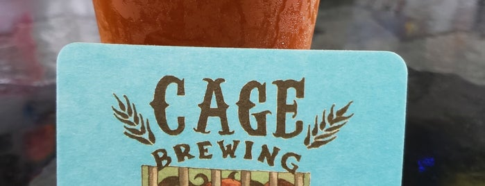 Cage Brewing is one of Stevenson's Top Beer Joints.
