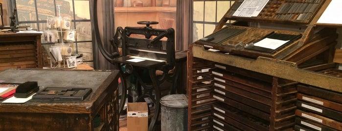 Heritage Press Museum is one of Tempat yang Disukai Chrissy.