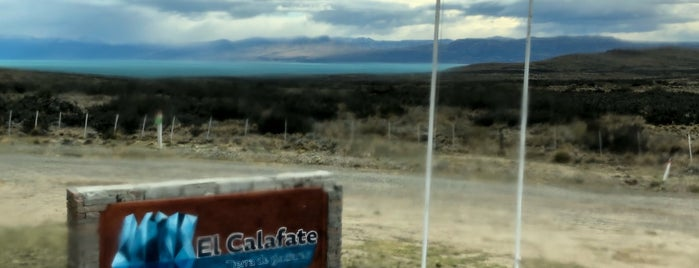 El Calafate is one of Chile - Argentina 2012.