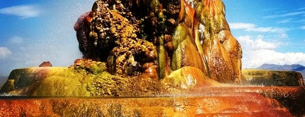 Fly Geyser is one of USA.