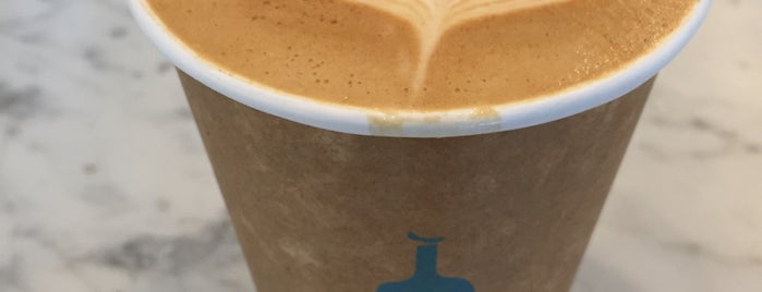 Blue Bottle Coffee is one of San Francisco Caffeine Crawl.