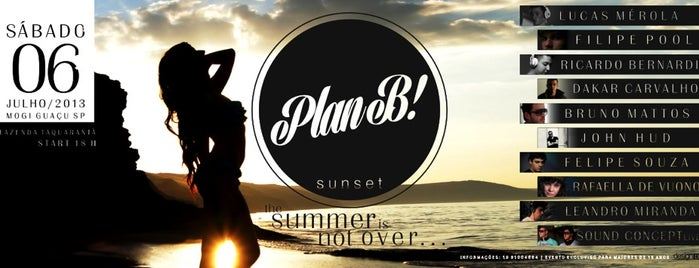 PLAN B! SUNSET is one of Tempat yang Disukai Paulo.