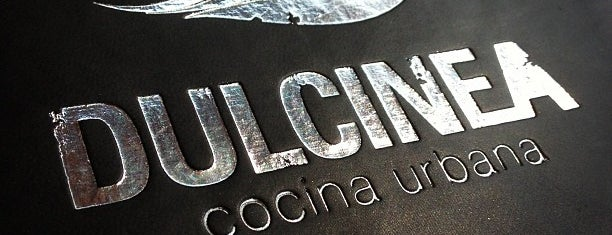 Dulcinea is one of Restaurantes Mexico DF.