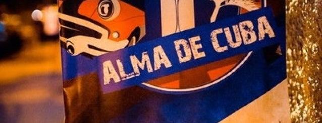 Alma de Cuba is one of Club, restaurant, cafe, pizzeria, bar, pub, sushi.