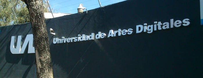 Universidad de Artes Digitales is one of Tempat yang Disukai Agustin.