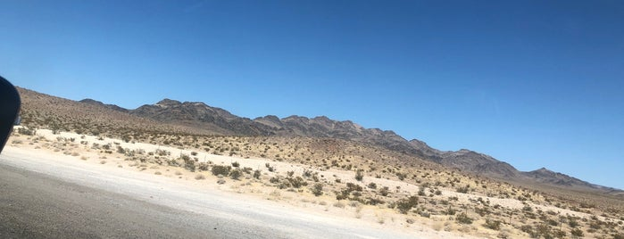 Nevada Desert is one of NYC➡️CALI➡️MEXICO.