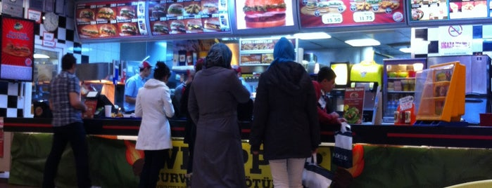 Burger King is one of Berat Muhammed 님이 좋아한 장소.
