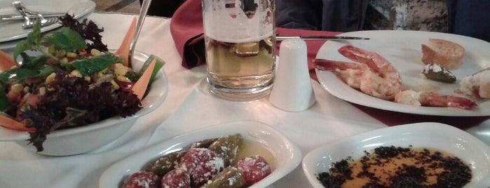 Sembol Balık Restorant is one of Istanbul food.