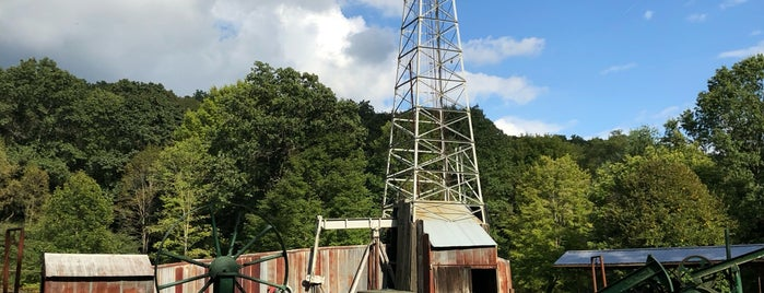 Drake Well Museum and Park is one of PA and WV.