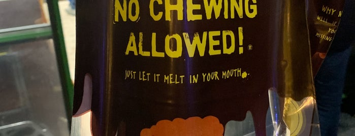 No Chewing Allowed Stand is one of NYC Restaurant List.