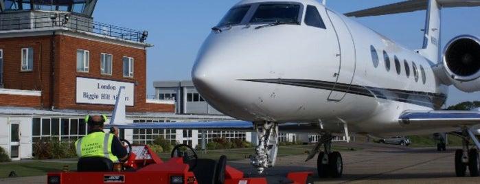 Biggin Hill Airport (BQH) is one of UK & Ireland Airports.