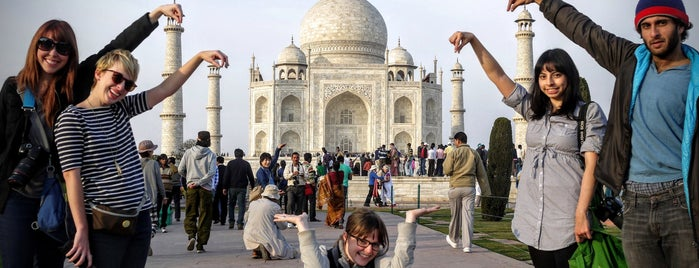 Taj Mahal is one of Go Ahead, Be A Tourist.