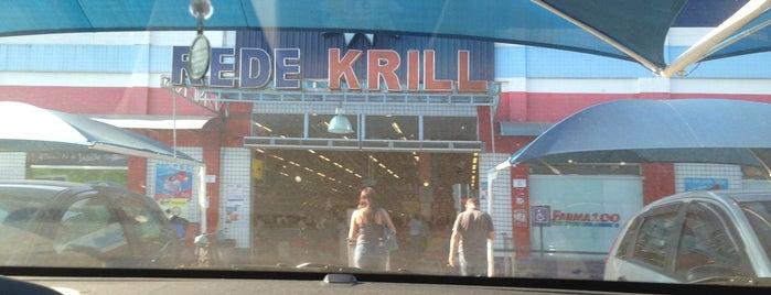 Supermercado Krill is one of Locais curtidos por Andre.