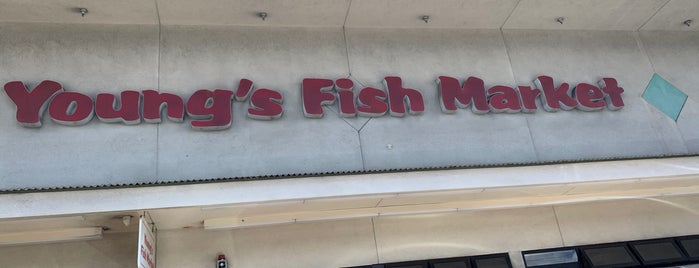 Young's Fish Market is one of My Fave places.