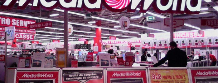 MediaWorld is one of Annaさんのお気に入りスポット.