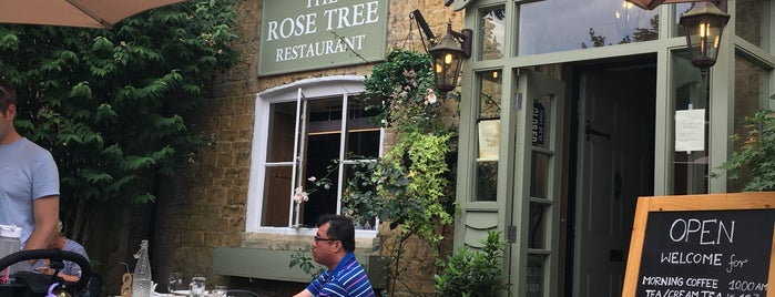 The Rose Tree Restaurant is one of London.
