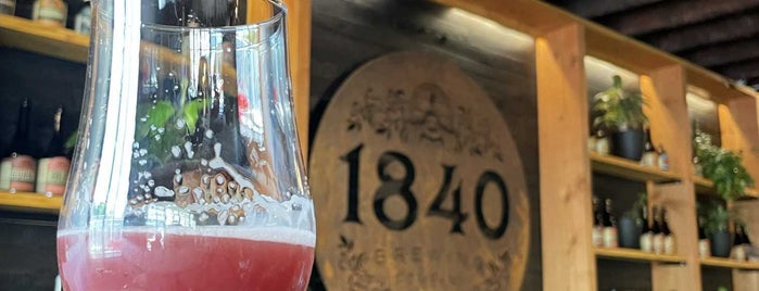 1840 Brewing Company is one of Mike 님이 좋아한 장소.