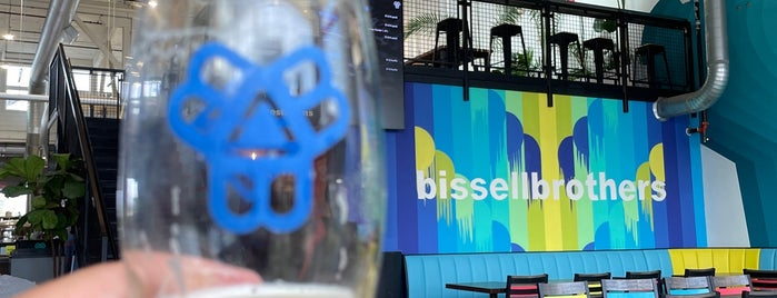 Bissell Brothers Brewing Co is one of Lugares favoritos de Mike.