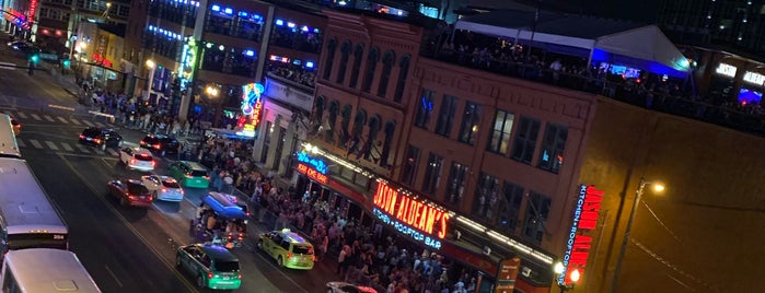 Honky Tonk Row is one of Nashville For a Weekend.