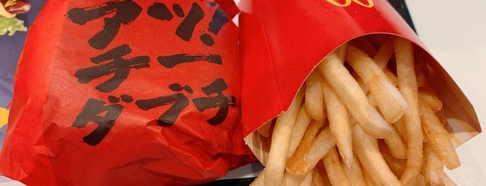 マクドナルド 24号木津店 is one of Lugares favoritos de Shigeo.