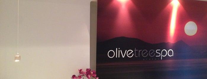 Olive Tree Spa is one of Orte, die Kyriaki gefallen.