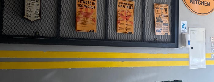 Gym Kitchen is one of สถานที่ที่บันทึกไว้ของ Queen.