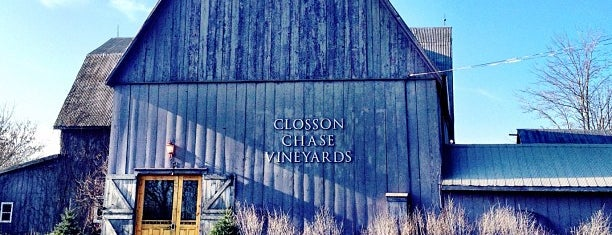 Closson Chase Winery is one of Prince Edward County Recommendations.