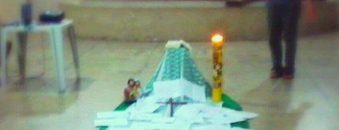 Paróquia Santo Antônio de Itaitinga is one of Arquidiocese de Fortaleza'nın Kaydettiği Mekanlar.