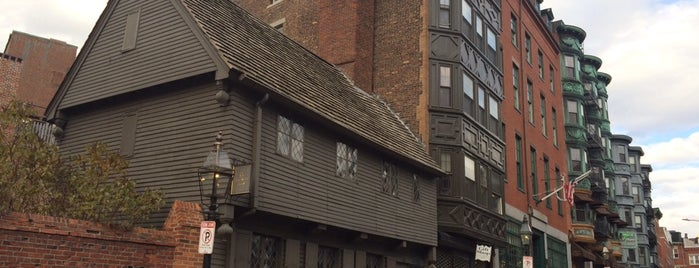 Paul Revere House is one of Boston.