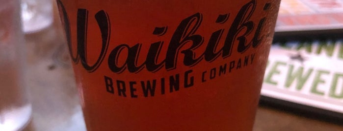 Waikīkī Brewing Company is one of Hawaii.