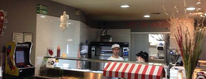 Pizzeria Corsaro is one of girona I.