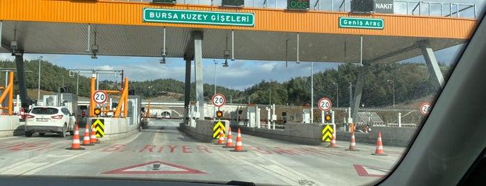Bursa Kuzey Gişeleri is one of Erkan : понравившиеся места.
