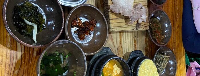 안거리 밖거리 is one of Jeju Food 濟州道 飮食 제주 음식.