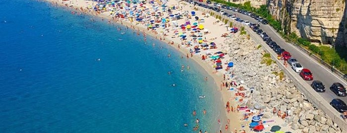 Tropea Beach is one of Italia: south.