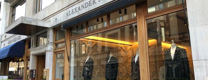 Alexander McQueen is one of London.