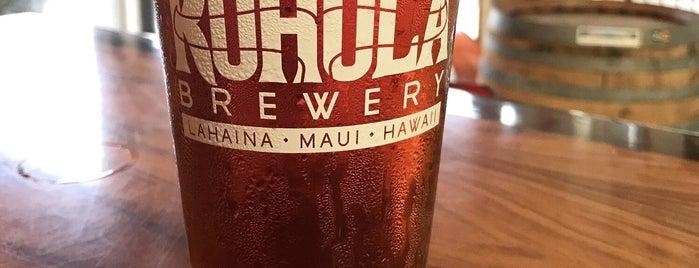 Koholā Brewery is one of Hawaii.