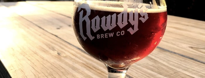 Rowdy's Brew Co. is one of CA Inland Empire Breweries.
