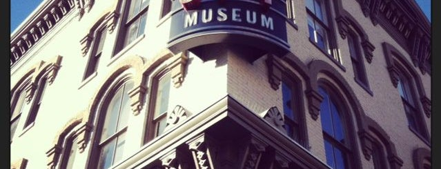 "International Spy Museum is one of ""Hail, Columbia, happy land...""."