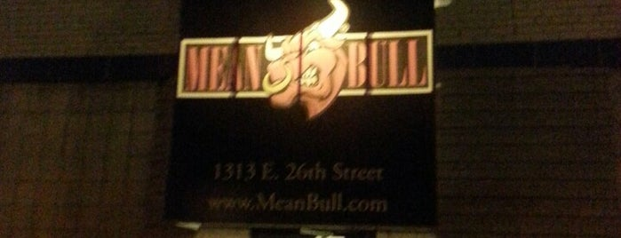 Mean Bull is one of Gay Places.