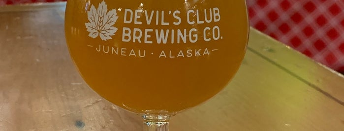 Devil's Club Brewing Company is one of Alaska.