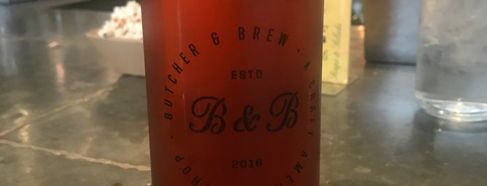 Butcher & Brew is one of Atlanta.