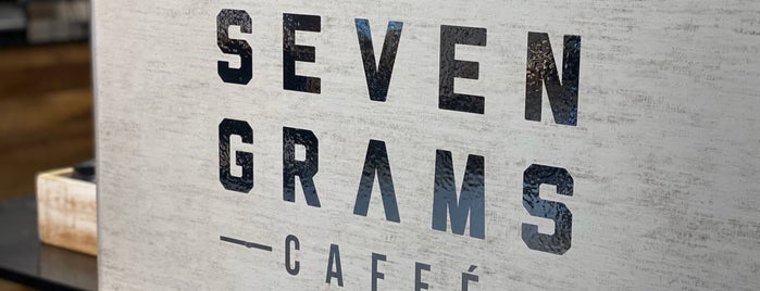 Seven Grams Caffe is one of New York to-do 2019.