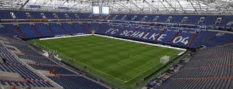 Veltins Arena is one of German Bundesliga 2013-2014.