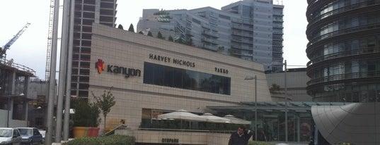 Kanyon is one of İstanbul'da Gezilmesi-Görülmesi Gereken Mekanlar.