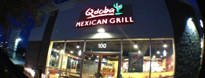 Qdoba Mexican Grill is one of Heather 님이 좋아한 장소.